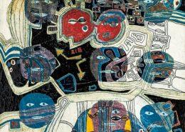 , 1967,  판넬에 석고, 호분, 수지, 수채, 아크릴, 162 x 128 cm, 곽덕준 (사진출처 : 갤러리현대 )