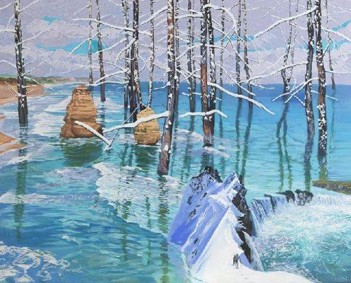 , 2017, Oil on canvas, 194×130.2㎝, 김상균