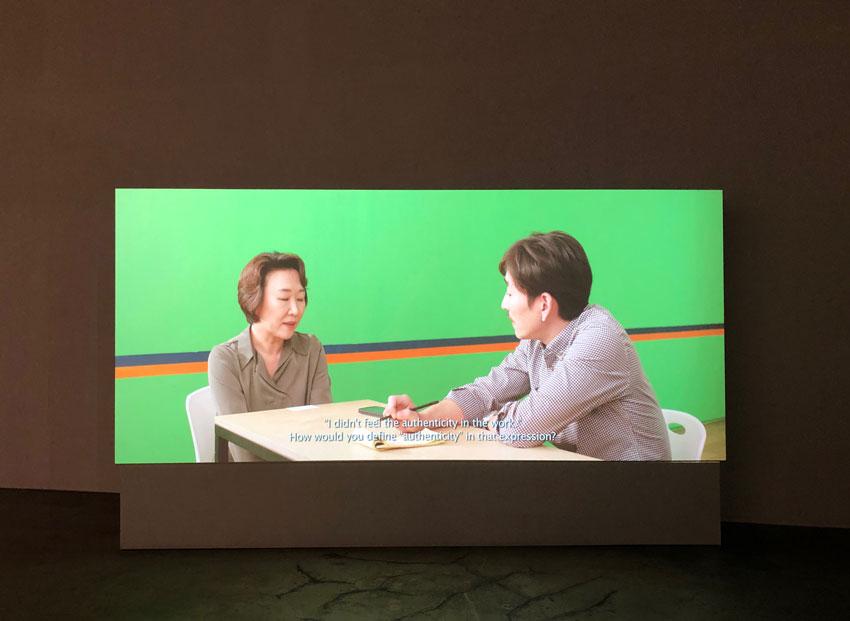 이소영, , 2-channel HD Video, 12min, 2018