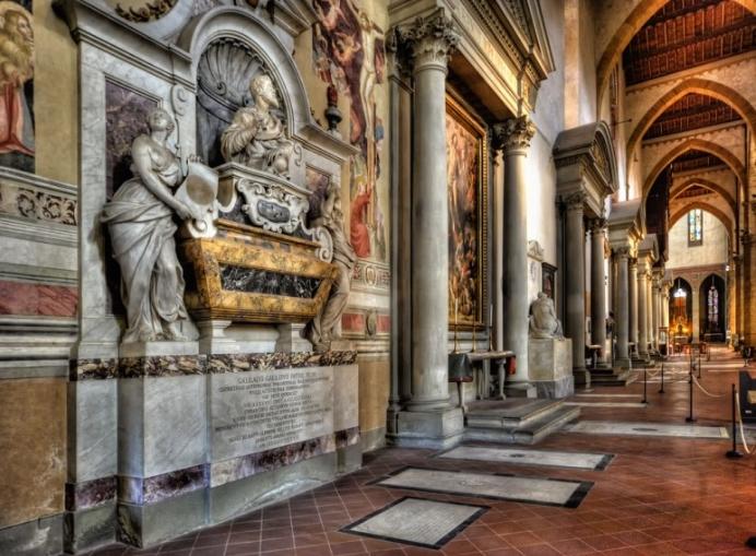산타크로체성당,미켈란젤로의영묘