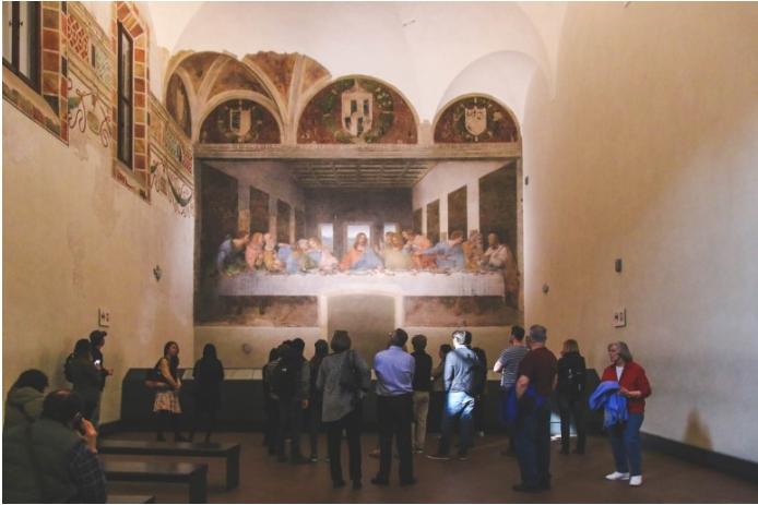 산타마리아델라그라체,최후의만찬(레오나르도다빈치)