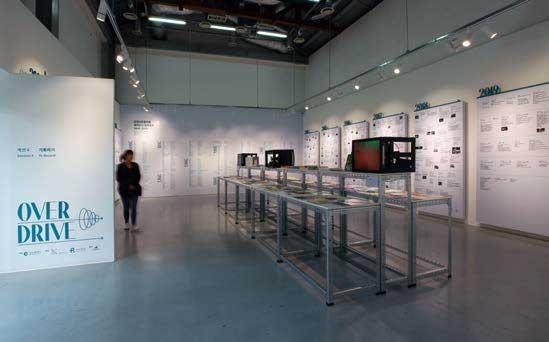 〈 기록하기 〉 인천아트플랫폼 창고 갤러리 설치광경