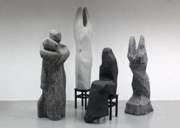 최하늘, < Qculpture group_Clean. Version >, 가변크기, 2019
